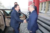 İRFAN BALKANLıOĞLU - Vali Balkanlıoğlu'ndan Vali Dağlı'ya Ziyaret