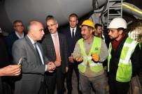 TURGUT DEVECIOĞLU - Vali Karahan Honaz Tünellerinde İncelemelerde Bulundu