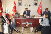 ADLIYE SARAYı - AK Parti'li Savaş, MHP'yi Ziyaret Etti