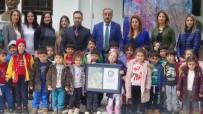 GUINNESS REKORLAR KITABı - Anaokulu Öğrencilerinin Ebru Çalışması Guinness Rekorlar Kitabı'nda