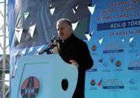 ÇEVRE YOLLARI - Bakan Arslan Açıklaması 'Dünyanın En Uzun Açıklığa Sahip Çanakkale 1915 Köprüsü 2023 Yılında Açılacak'