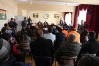 KAYYUM - Başkan Vekili Çetin, Belediye Çalışanlarıyla Bir Araya Geldi