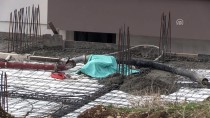 Beton Mikserinin Borusu İşçilerin Üzerine Düştü Açıklaması 1 Ölü, 1 Yaralı