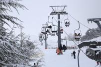 YAMAÇ PARAŞÜTÜ - Davraz'da Turizm Sezonu Açıldı