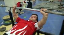 HALTER ŞAMPİYONASI - Engelli Haltercilerin Gözü Avrupa Şampiyonası'nda