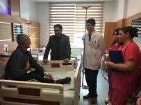 Havran Kaymakamı Aydın, Hastaneyi Ziyaret Etti