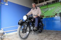 ALMANLAR - İkinci Dünya Savaşını Görmüş Motosiklet, Hala O Günkü Gibi Çalışıyor
