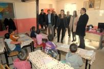 MERAL UÇAR - Kaymakam Uçar'dan Köy Okulu Ziyareti