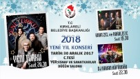ÜCRETSİZ ULAŞIM - Kırklareli Belediyesi'nden Yeni Yıla Özel Konser