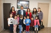 KARTAL BELEDİYESİ - Kreş Öğrencilerinden Kartal Belediyesi'ne Yeni Yıl Ziyareti