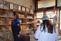KUŞADASI BELEDİYESİ - Kuşadası'nda Yılbaşı Öncesi Fırın Ve Kasaplarda Denetim