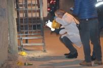 SES BOMBASI - Polis Merkezinin Arkasına Ses Bombası Atıldı