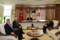 PTT Başmüdürü Ersoy, Rektör Bağlı'yı Ziyaret Etti