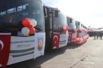TOPLU TAŞIMA ARACI - Siverek'te Yeni Toplu Taşıma Araçları Hizmete Başladı