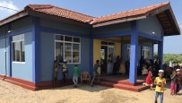 SRI LANKA - Sri Lanka'da Türk Köyünde Anaokulu, Sağlık Ocağı Ve Çocuk Oyun Alanı Hizmete Açıldı