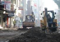 Turgutlu'da 7 Eylül Yolunun Altyapısına Başlandı