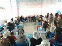 AK Partiden Belediye Kadın Merkezine Ziyaret