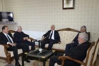 KAVAKYOLU - Başkan Başsoy'dan Çukurkuyu Belediyesine Ziyaret