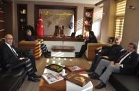 Başkan Karaçanta, Esnaf Odaları Başkanlarıyla Bir Araya Geldi