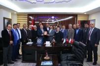MEHMET SEKMEN - Başkan Sekmen'den TÜMSİAD'a Ziyaret
