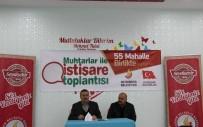 Başkan Tutal, Muhtarlarla Karla Mücadele Toplantısı Düzenledi