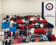 TAKLİT ÜRÜN - Eskişehir'de Taklit Tekstil Ürünleri Ele Geçirildi