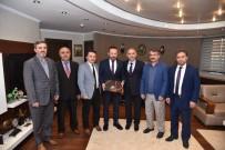 MAKEDONYA - Kocaeli Din Görevlileri Yardımlaşma Derneği'nden Başkan Doğan'a Teşekkür Ziyareti