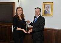 ESRA HATIPOĞLU - Nişantaşı Üniversitesi Rektörü Hatipoğlu, Bircan'ı Ziyaret Etti