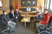 KAYTAZDERE - Öğrencilerden Oral'a Teşekkür