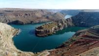 ŞAHİKA ERCÜMEN - Fırat'in İncisi Rumkale Havadan Görüntülendi