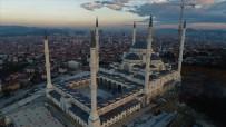 KADİR GECESİ - (Özel) Yüzde 90'Lık Kısmı Biten Çamlıca Camii Havadan Görüntülendi