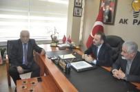 ULUPıNAR - Sarıoğlu'ndan Çağlayan'a Ziyaret