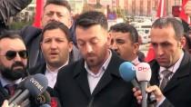 SIYAH ÇELENK - Şehit Aileleri CHP'ye Siyah Çelenk Bıraktı