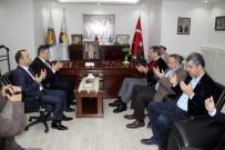 ANKARA TİCARET ODASI - TOBB Başkanı Hisarcıklıoğlu Taziye Ziyareti İçin Kdz. Ereğli'ye Geldi