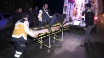 KONURALP - Trafik Kazasında Yaralandı Hastaneye Götürülürken İkinci Kaza Geçirdi