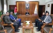 Türk Eğitim Sen Yöneticileri Vali Aktaş'ı Ziyaret Etti