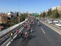 ENGELLİ SPORCU - 15 Temmuz Şehitler Köprüsü Engelliler İçin Trafiğe Kapatıldı
