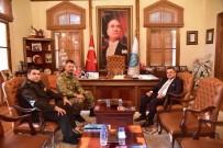9. Eğitim Alay Komutanı Albay Çömer'den Başkan Yağcı'ya Ziyaretler
