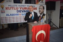 MEHMET TÜRKMEN - AK Parti Alaşehir 6. Olağan İlçe Kongresi Yapıldı