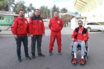 KIEV - AKUT Görevlisi Tekerlekli Sandalye İle De Çalışmalarını Sürdürüyor