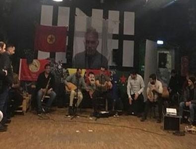 Almanya'da şok görüntü! PKK...