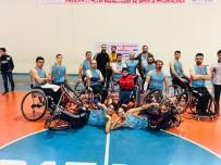 AHMET DENIZ - Batman Belediyesi Tekerlekli Sandalye Basketbol Takımı Evinde Galip
