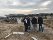 Burhaniye Zeytin OSB'de Temeller Atılmaya Başlandı