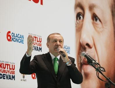 Erdoğan: Bazı işadamları varlıklarını yurtdışına kaçırmaya çalışıyor