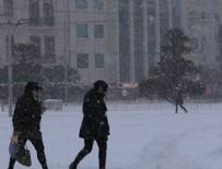 KUZEY EGE - İstanbul'a çarşamba kar geliyor