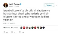 KADIR TOPBAŞ - Kadir Topbaş'tan Yeni Oluşum İddialarına Yalanlama