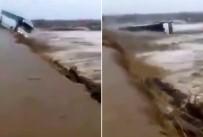 AŞIRI YAĞIŞ - Otobüs Sel Sularına Kapıldı Açıklaması 1 Ölü, 36 Yaralı