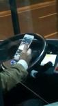 OTOBÜS ŞOFÖRÜ - Otobüs Şoförünün 'Pes' Dedirten Görüntüsü