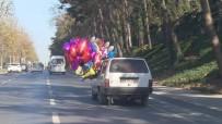 SARIYER - (Özel) Uçan Balonlu Araba