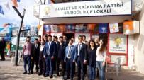 MUSTAFA ERTÜRK - Sarıgöl AK Parti İlçe Gençlik Kolları Başkanı Cavit Batuk Oldu
